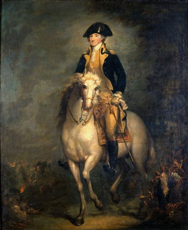 Portrait of George Washington [Equestrian] – Rembrandt Peale