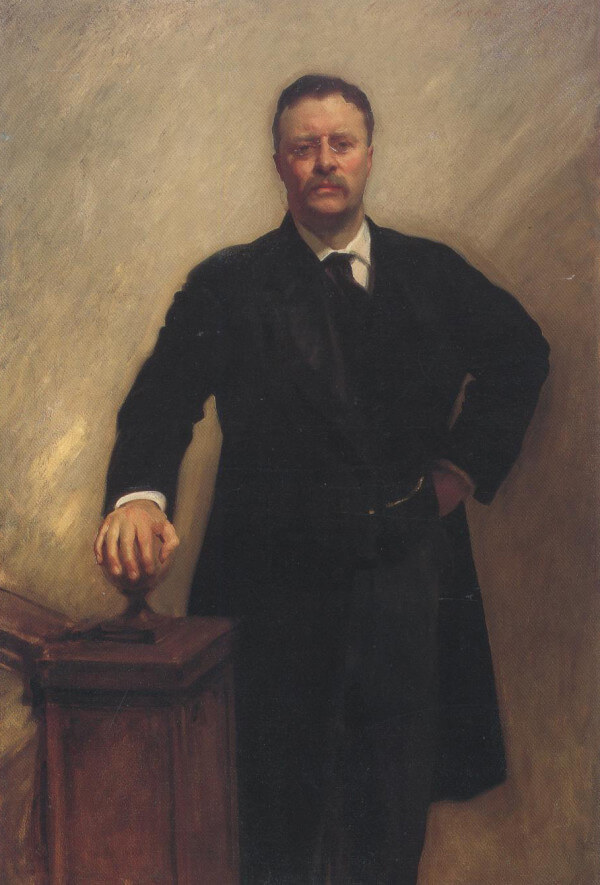President Theodore Roosevelt – John Singer Sargent