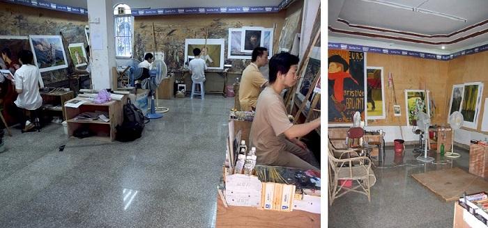 Old studios