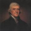 Portrait of Thomas Jefferson - Rembrandt Peale