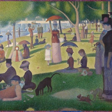 Sunday Afternoon on the Grande Jatte - Georges-Pierre Seurat