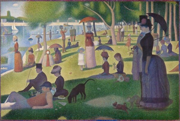 Sunday Afternoon on the Grande Jatte – Georges-Pierre Seurat