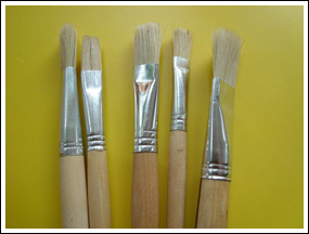 small-paint-brushes