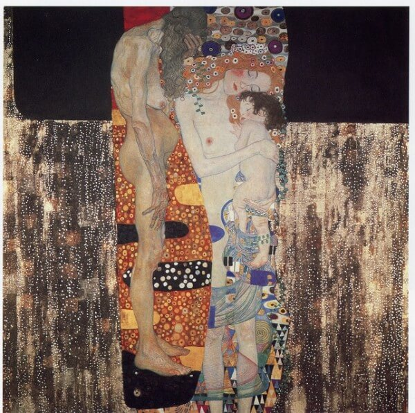 The Three Ages of Woman (Mother and Child) – Gustav Klimt