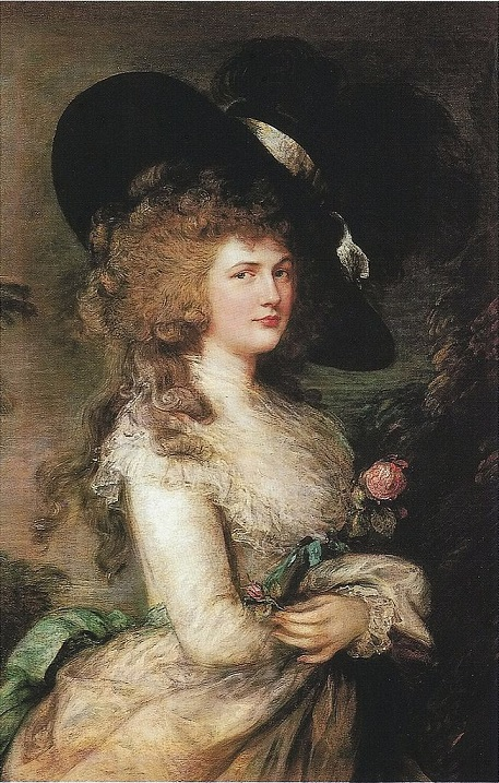 Portrait of Georgiana