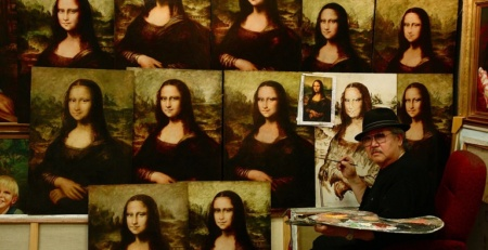 Mona Lisa copies