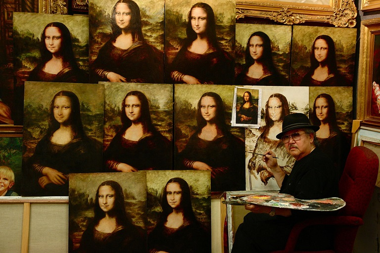Buy a Mona Lisa Portrait